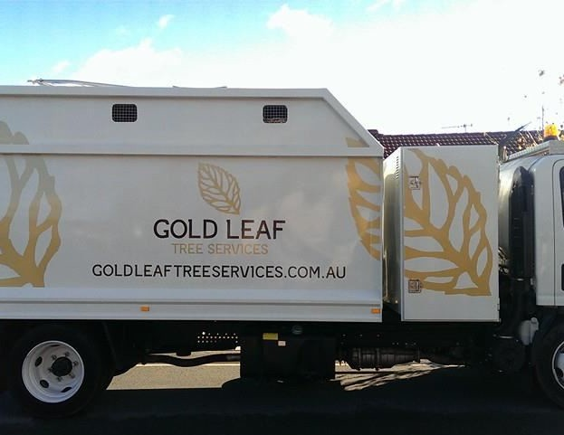 Gold Leaf Tree Services Truck